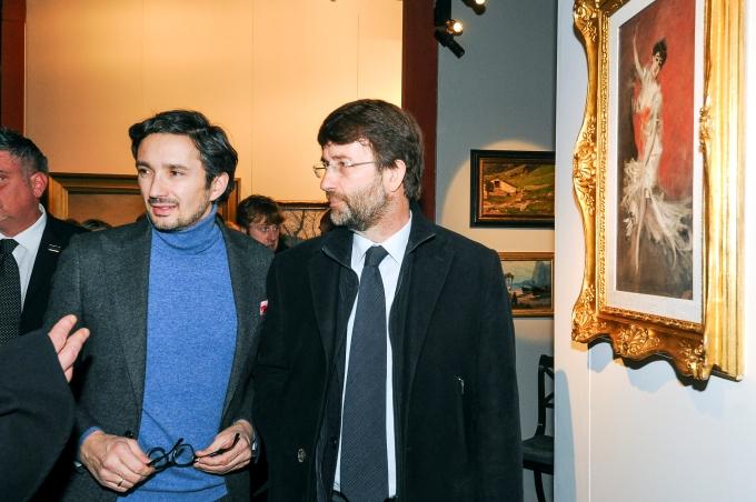 Tiziano Panconi e il Ministro Dario Franceschini