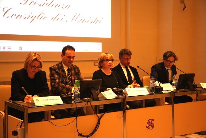 Tiziano Panconi, Sergio Gaddi, Arabella Cifani, Leo Lecci, sen. Barbara Masini, .JPG
